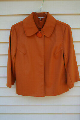 Women's Harve Bernard Single Button Jacket w/ Sleeveless Turtle Neck size PM