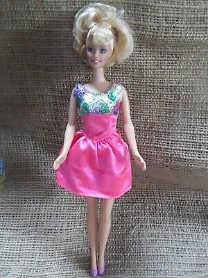 Twirling ballerina barbie Doll Spinning Ballet- Star Pull String painted shoes