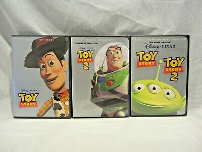 Disney Pixar Toy Story 3  DVD collection: Toy Story, Toy Story 2, Supplement (LK