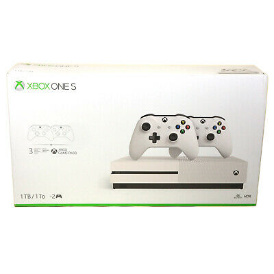 Xbox One S 1TB Konsole Bundle 2 Controller + 3 Monate Gamepass +14 Tage LiveGold