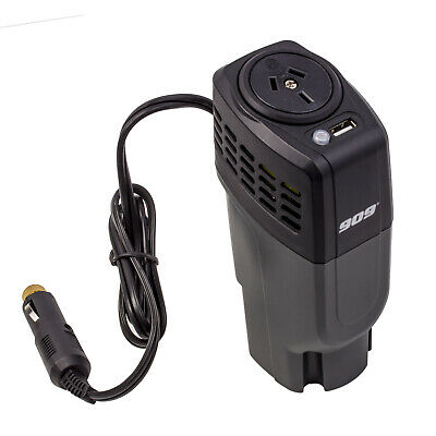 909 POWER INVERTER MODIFIED WAVE 100W 12V VOLT DC TO 240v AC NEW CAN SIZE CAR