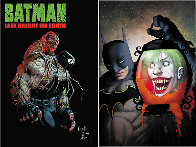 BATMAN LAST KNIGHT ON EARTH #2 - NM - DC Comics - Presale 07/31
