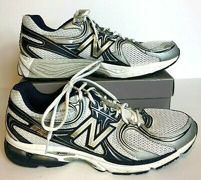 637081a5aa415 New Balance Mens Size 14 MR860NS White Lace Up Running Sneakers Shoes N  Ergy 860