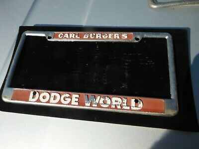 Carl Burger Dodge San Diego >> San Diego Chargers Chrome License Plate Frame 10 99 Picclick