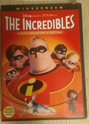 The Incredibles (DVD, Widescreen) Authentic Disney Release