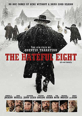 The Hateful Eight (DVD, 2016, Canadian)