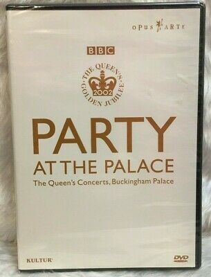 DVD Party at the Palace: The Queen's Jubilee Concert 2002 R 0 Brand New Sealed