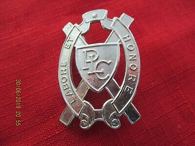 Presbyterian Ladies' College  Perth SHERIDAN Badge	Latin: Labore Et Honore