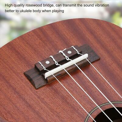 Grover Adjustable Rosewood Guitar Bridge With Plastic Saddle MPN 3381
