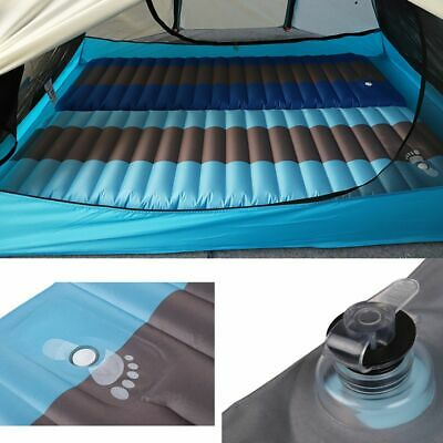 12CM Thick Ultralight Inflatable Sleeping Pad Air Mat Camping Outdoor Mattress