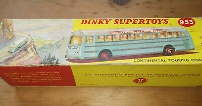 Dinky #953 Continental Touring C oach Reproduction Box by DRRB