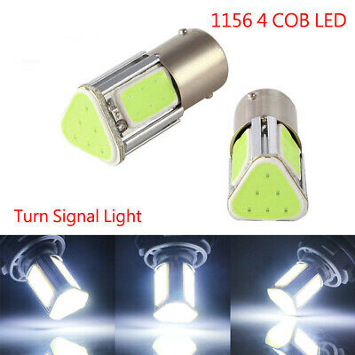 BA15S 382 1156 R10W 382 4 COB LED Car Turn Signal Reverse Back Light Bulb 12V