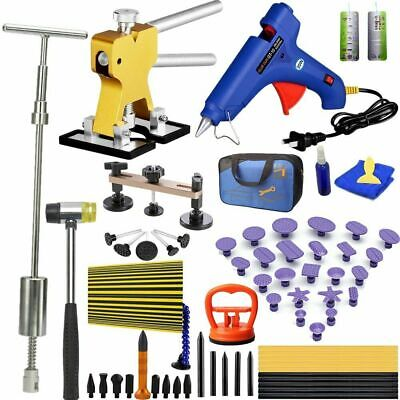 Paintless Dent Removal Puller Lifter Tools Line Board Repair Hammer Hail Kits