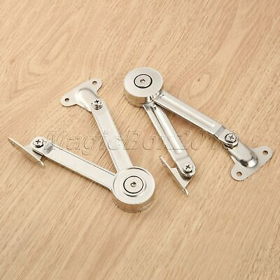 Adjustable Door Furniture Cupboard Cabinet Lid Lift up Flap Stay Support Hinge
