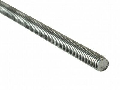 "A2 Stainless UNC Studding 1/4"" 5/16"" 3/8"" 1/2"" 5/8"" 3/4"" Threaded Bar 3ft Length"
