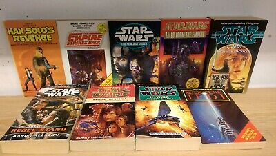 Star Wars: collection of 9 adult science fiction books