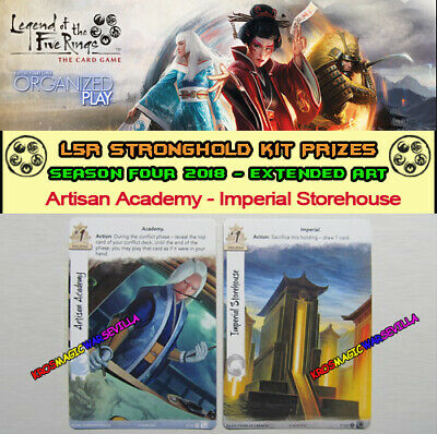 LEGEND OF THE FIVE RINGS L5R LCG - Artisan Academy - Promo Stronghold Kit 4 2018