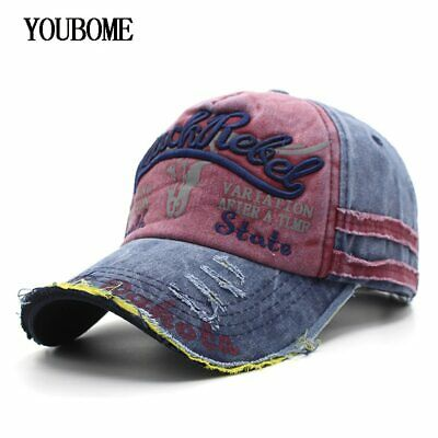 Baseball Cap Hats For Men Women Brand Snapback Caps MaLe Vintage Washed