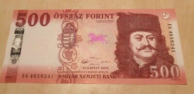 HUNGARY 500 Forint 2018 (2019) P NEW UNC Banknote