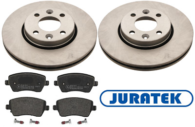 FRONT BRAKE DISCS AND PADS FOR RENAULT  CLIO VAN 1.5 DCI 10//2001-8//2009