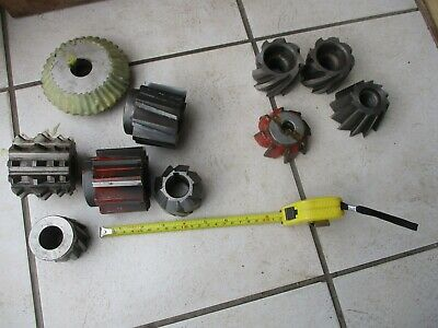 Job Lot Milling Cutters Cnc Slab Mill Horizontal Cutting
