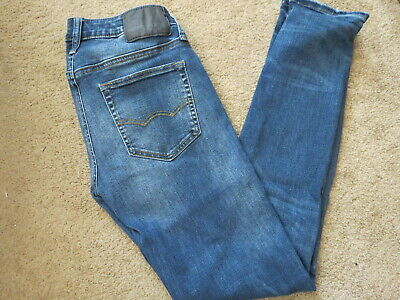 VG AEO American Eagle Outfitters skinny extreme flex denim blue jeans mens 27x31