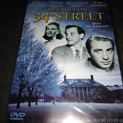 Miracle On 34th Street (DVD Thomas Mitchell. Teresa Wright) Brand New - Factory
