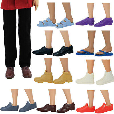 Fashion Multicolor Male's Shoes Accessories For 12 inch Ken Doll Kid Toy Gift