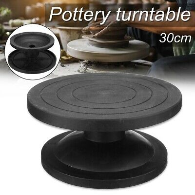 30CM Metal Pottery Banding Wheel Potters Turntable Turnplate Clay Modelling