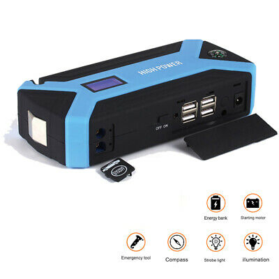89800mAh Car Jump Start Starter Battery Charger Power Booster Rescue Pack