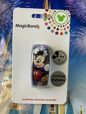 Disney Parks 2019 Annual Passholder Limited Release Mickey MagicBand