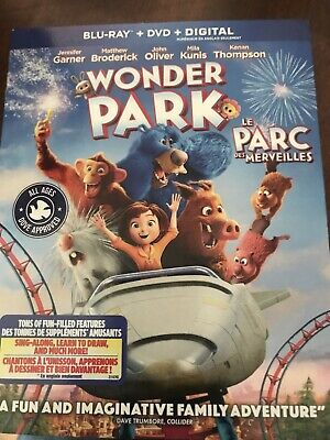 Wonder Park Blu Ray DVD And Digital New And Sealed