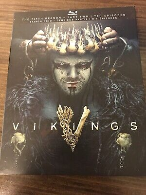 Vikings The Fifth Season  Part Two Blu Ray New And Sealed
