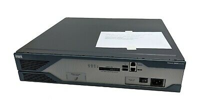 Cisco 2821 Gigabit Integrated Services ISR Router IPBASE-M