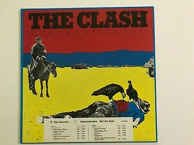 Clash - Give 'Em Enough Rope - Used 1978 White Label Promo LP - Near Mint Vinyl