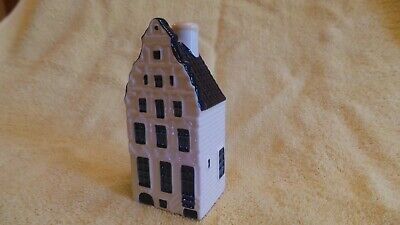 KLM Bols Amsterdam Delft Blue HOUSE #53, sealed, intact, excellent condition