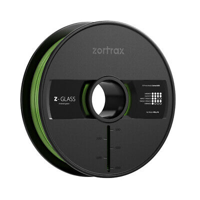 Zotrax 10622 Z-GLASS Filament, 1.75 mm, 800 g, Android Green