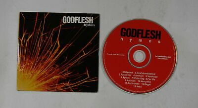 Godflesh Hymns UK Adv Cardcover CD 2001 Industrial