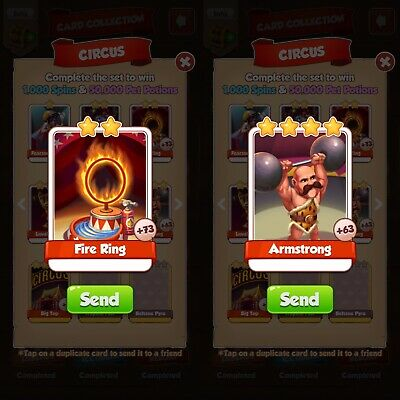 Super Rare Coin Master Bundle Pack Armstrong And Fire Ring 🇬🇧 Fast Delivery!