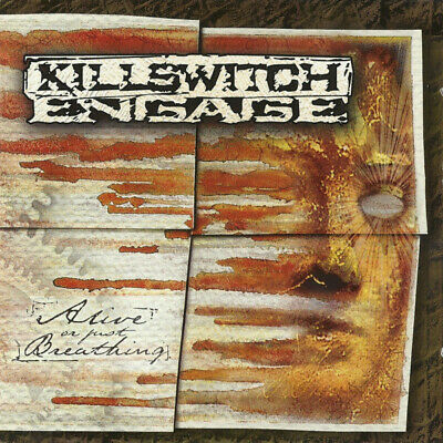 Killswitch Engage Alive Or Just Breathing (VG+) CD, Album