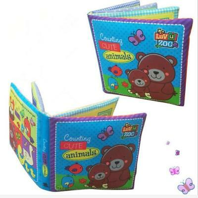 Soft Cloth Baby Kid Intelligence Development Learn Picture Cognize Book Toy Lot