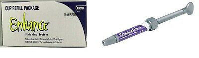 Dentsply Prisma Gloss Composite Polishing Paste & Enhance Finishing Cup Combo