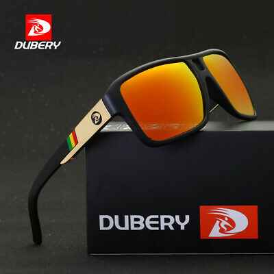 DUBERY Men Women Polarized Sunglasses Outdoor Sport Driving Fishing Shades UV400