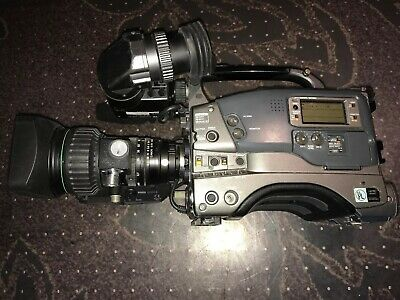 BUNDLE JVC GY-DV500 Camcorder & Canon Video BCTV Zoom Lens YH18X6.7-121MM 1:1.4