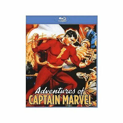 Adventures Of Captain Marvel (12 Chapter Serial) [Blu-Ray], DVD Nuovi