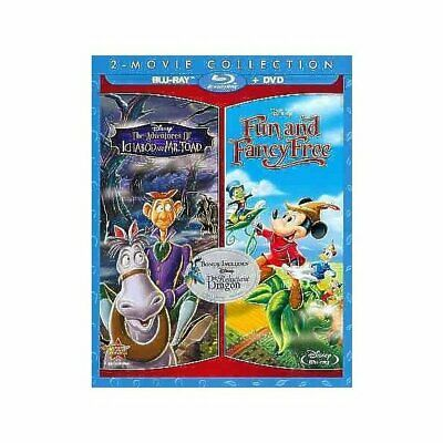 The Adventures Of Ichabod y Mr. Toad [ Blu-Ray ], Dvds