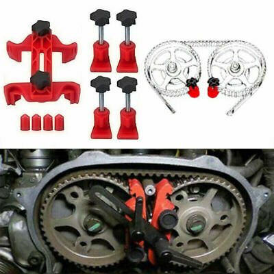 5/Set Dual Cam Clamp Camshaft Sprocket Gear Durable Engine Timing Locking Tools