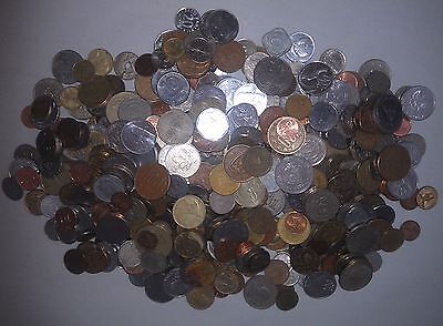Bulk Mixed World Coins 1.9 kgs