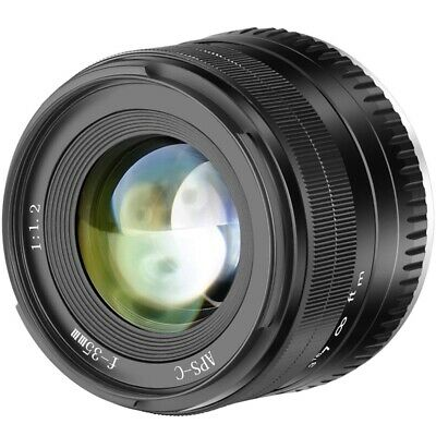 35Mm F1.2 Large Aperture Prime Aps-C Aluminum Lens For Fuji X Mounting With W6C3