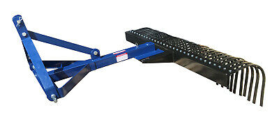 3 Point Linkage Tractor Landscape Rake 5Ft & 6Ft